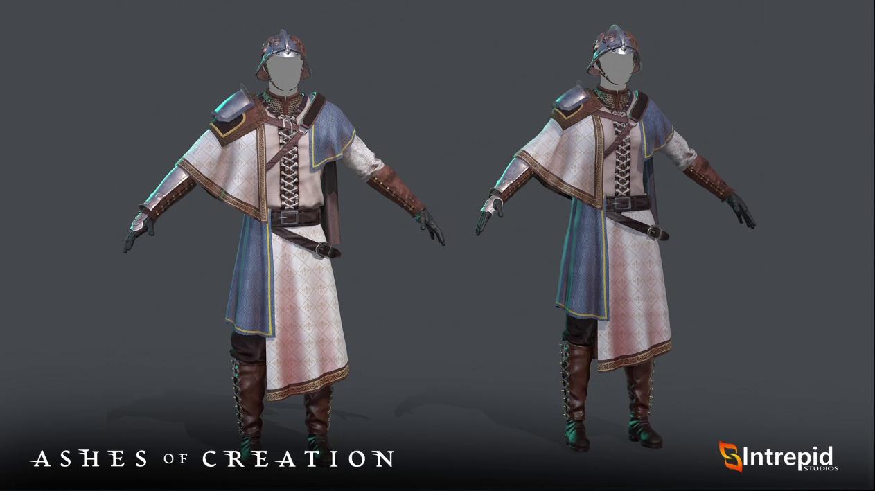 conjunto set de equipo ashes of creation en español