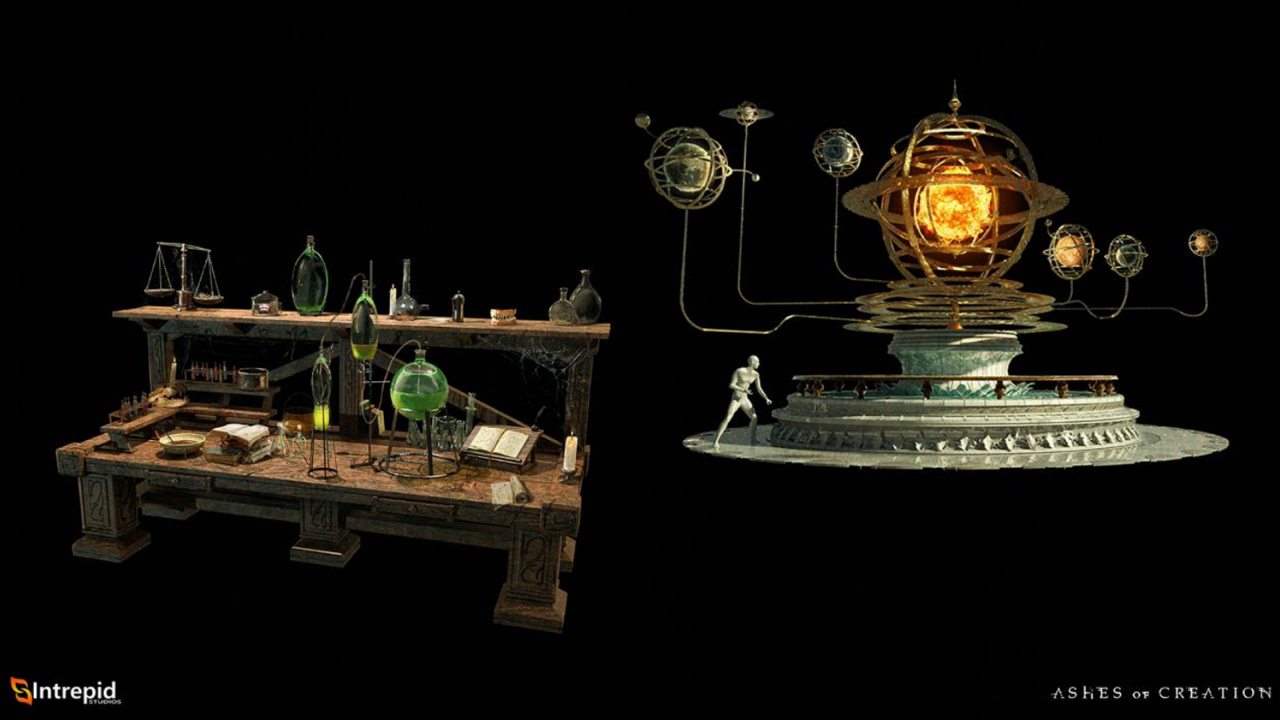 mesa de alquimia ashes of creation en español alchemy