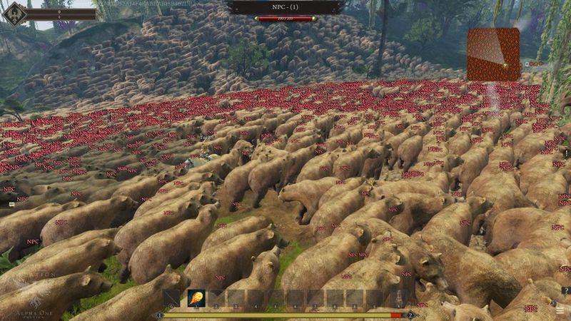 Stress test de Ashes of Creation